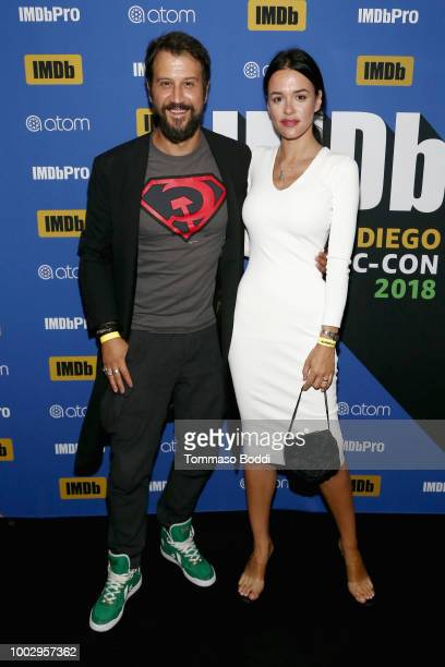 Stefan Kapicic and Ivana Horvat attend The #IMDboat Party At San Diego ComicCon 2018 Sponsored By Atom Tickets at The IMDb Yacht on July 20 2018 in...