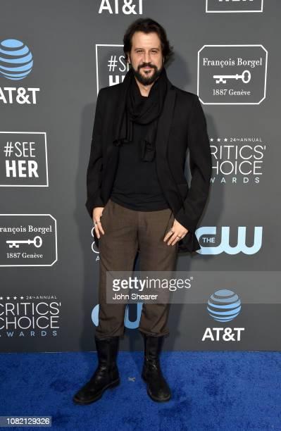 Stefan Kapicic attends the 24th Annual Critics' Choice Awards at Barker Hangar on January 13 2019 in Santa Monica California