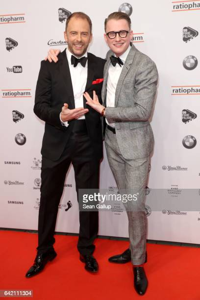 Stefan Kiwit and JanHenrik M ScheperStuke attend the 99FireFilmsAward at Admiralspalast on February 16 2017 in Berlin Germany