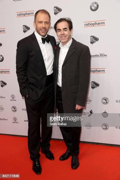 Stefan Kiwit and Oscar Ortega Sanchez attend the 99FireFilmsAward at Admiralspalast on February 16 2017 in Berlin Germany