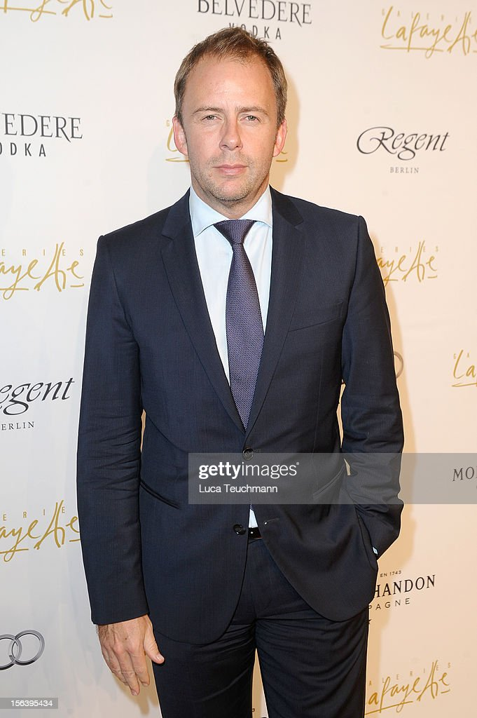 Stefan Kiwit attends Les Galeries Lafayettes Re-Open Ground Floor on November 14, 2012 in Berlin, Germany.
