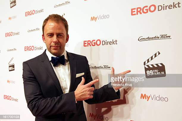 Stefan Kiwit attends the 5th '99FireFilmsAward' Red Carpet Arrivals at the Admiralspalast on February 14 2013 in Berlin Germany