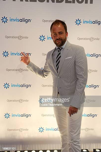 Stefan Kiwit attends the Niels Ruf Art Exhibition at Camera Works on May 29, 2013 in Berlin, Germany.