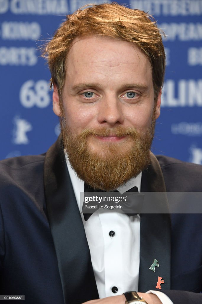 Stefan Konarske attends the 'My Brother's Name is Robert and He is an Idiot' (Mein Bruder heisst Robert und ist ein Idiot) press conference during the 68th Berlinale International Film Festival Berlin at Grand Hyatt Hotel on February 21, 2018 in Berlin, Germany.