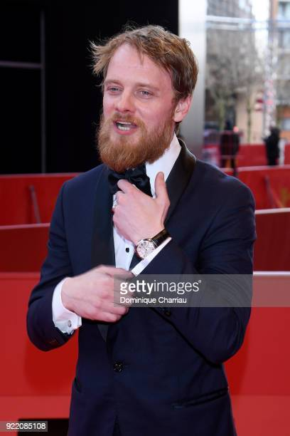 Stefan Konarske attends the 'My Brother's Name is Robert and He is an Idiot' premiere during the 68th Berlinale International Film Festival Berlin at...