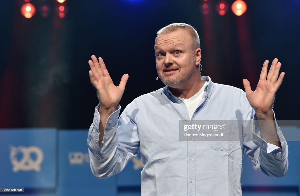 Stefan Konrad Raab during the 'Bits & Pretzels Founders Festival' at ICM Munich on September 24, 2017 in Munich, Germany.