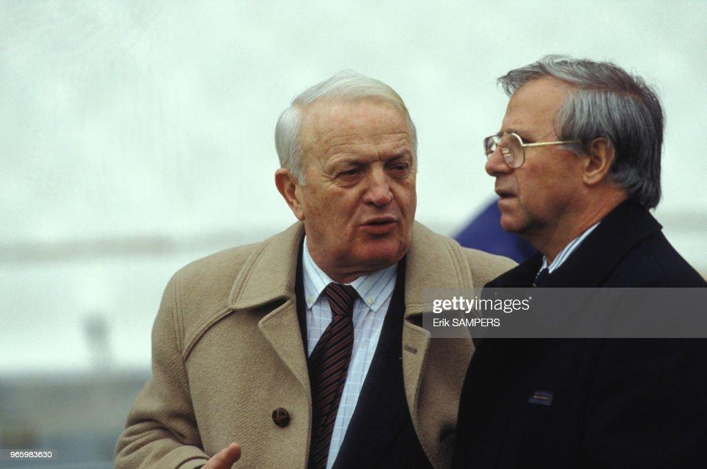 Stefan Kovacs Et Michel Hidalgo : Photo d'actualité