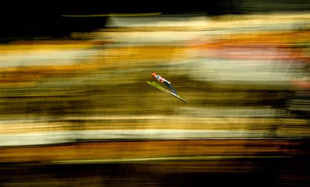 DEU: FIS Nordic World Ski Championships Oberstdorf - Ski Jumping Training Men HS106