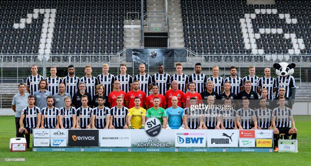 SV Sandhausen - Team Presentation : News Photo