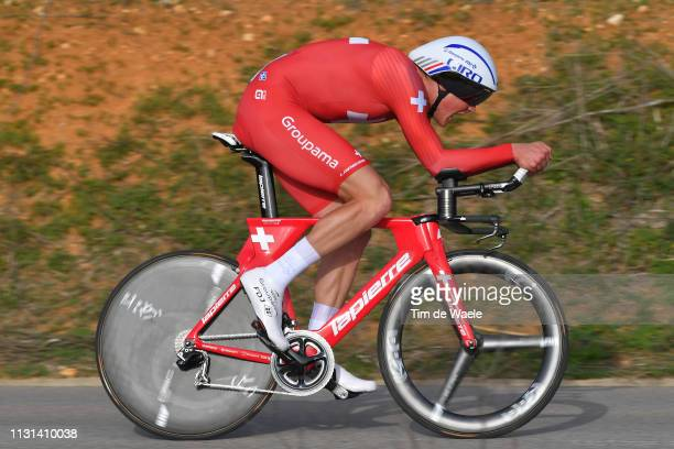 Stefan Kung of FSwitzerland and Team Groupama - FDJ / during the 45th Volta ao Algarve, Stage 3 a 20,3km Individual Time Trial stage from Lagoa to...