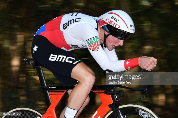 Stefan Kung of Switzerland and BMC Racing Team / during the 14th BinckBank Tour 2018, Stage 2 a 12,7km Individual Time Trial stage from Venray to...