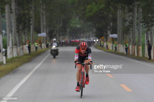 Stefan Kung of Switzerland and Bmc Racing Team / during the 2nd Tour of Guangxi 2018 Stage 4 a 1522km stage from Nanning to Mashan NonglaScenic Area...