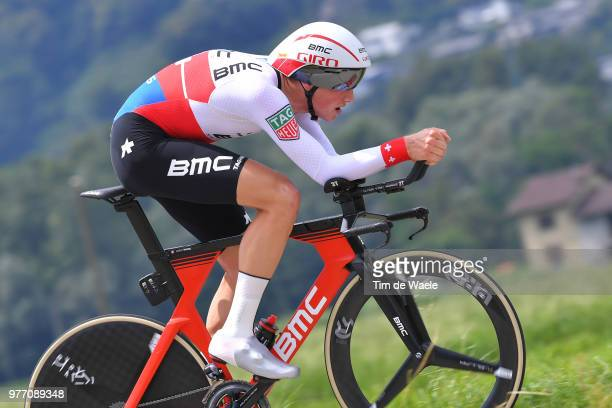 Stefan Kung of Switzerland and BMC Racing Team / during the 82nd Tour of Switzerland 2018, Stage 9 a 34,1km individual time trial stage from...
