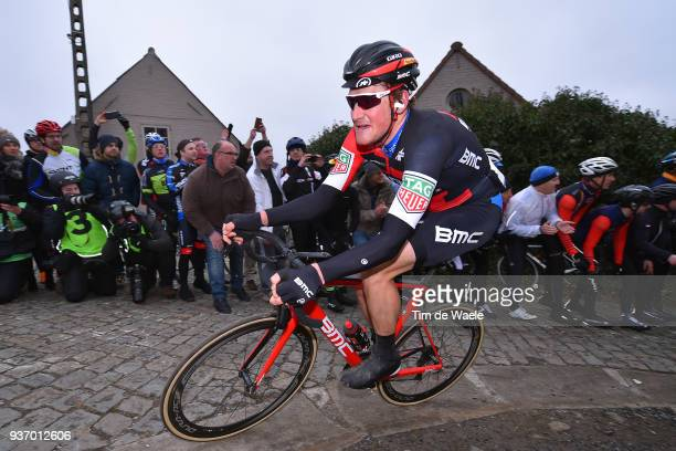 Stefan Kung of Switzerland and Team BMC Racing Team / during the 61st E3 Harelbeke 2018 a 206,4km race from Harelbeke to Harelbeke on March 23, 2018...
