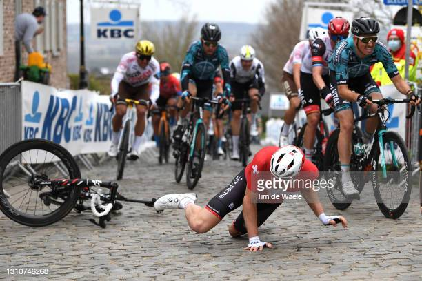 Stefan Kung of Switzerland and Team Groupama - FDJ during the 105th Ronde van Vlaanderen - Tour of Flanders 2021, Men's Elite a 251,5km race from...