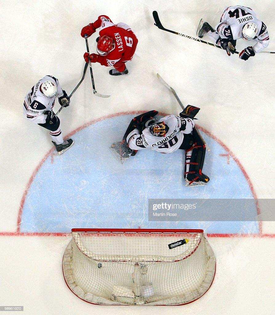 USA v Denmark - 2010 IIHF World Championship : News Photo