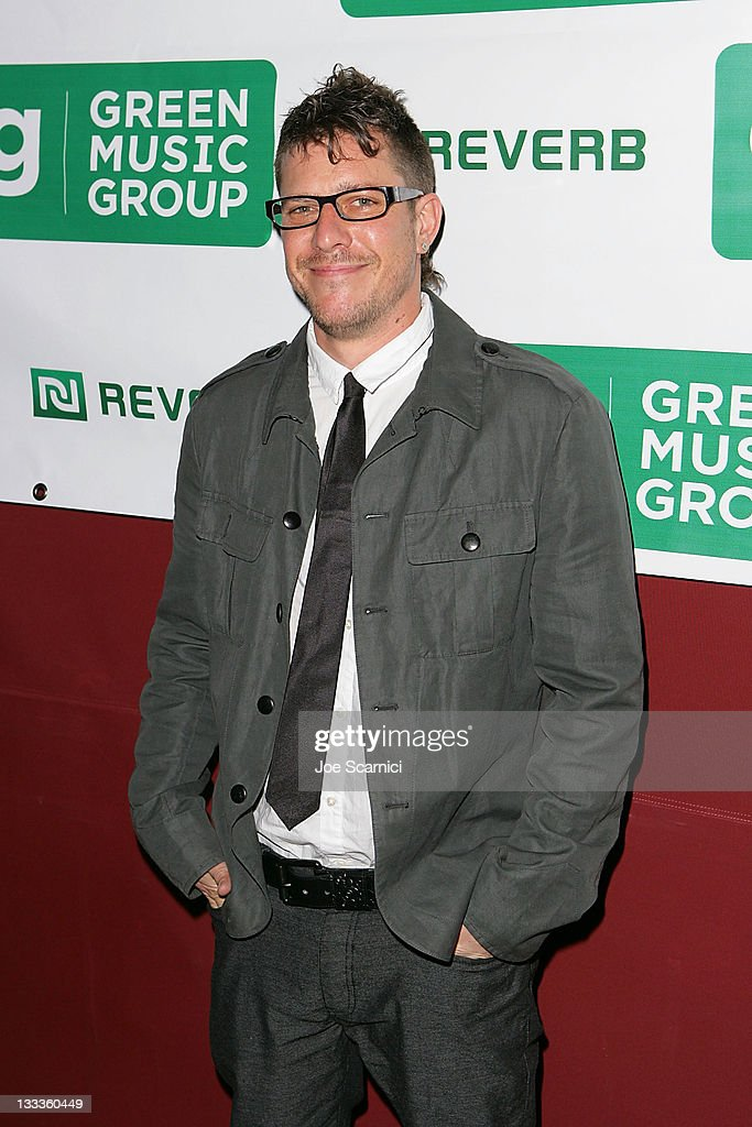 Stefan Lessard of Dave Matthews Band arrives at Green Music Group Celebrates Its Official Launch Party at the Janes House on January 30, 2010 in Hollywood, California.