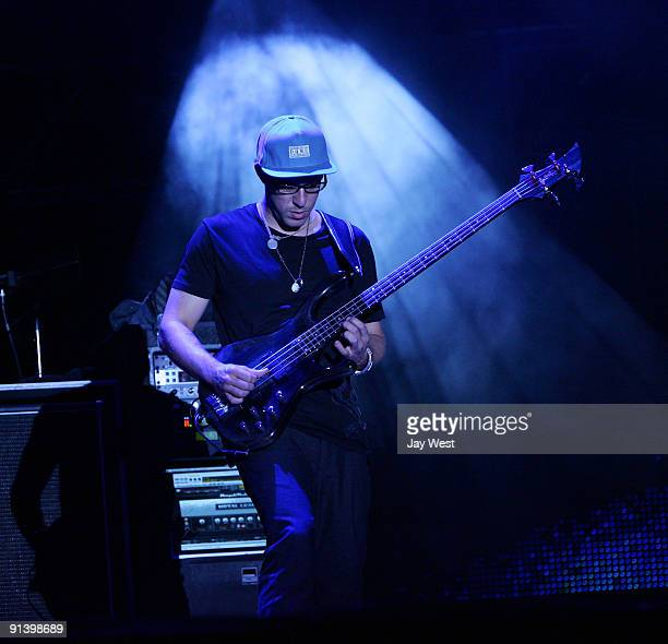 Stefan Lessard of the Dave Matthews Band performs on day 2 of the Austin City Limits Music Festival at Zilker Park on October 3, 2009 in Austin,...