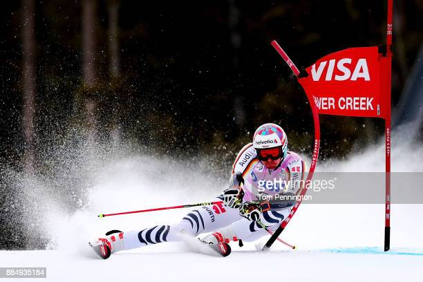 Stefan Luitz of Germany competes in the Audi Birds of Prey World Cup Men's Giant Slalom on December 3 2017 in Beaver Creek Colorado