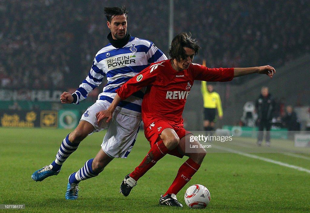 1. FC Koeln v MSV Duisburg - DFB Cup : News Photo