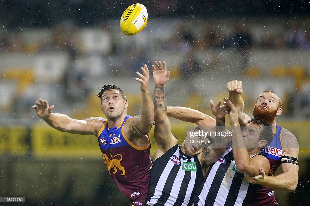 AFL Rd 1 - Brisbane v Collingwood