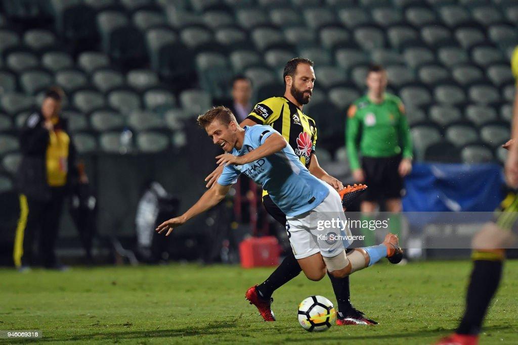 A-League Rd 27 - Wellington v Melbourne City