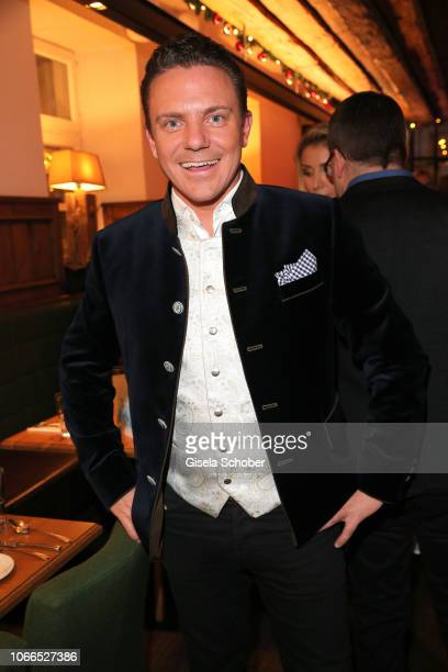 Stefan Mross during the Christmas Charity Dinner hosted by StefanMross AnnaCarinaWoitschack and Connections PR for the benefit of the foundation...