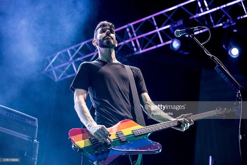 Placebo Perform in Concert in Madrid : ニュース写真