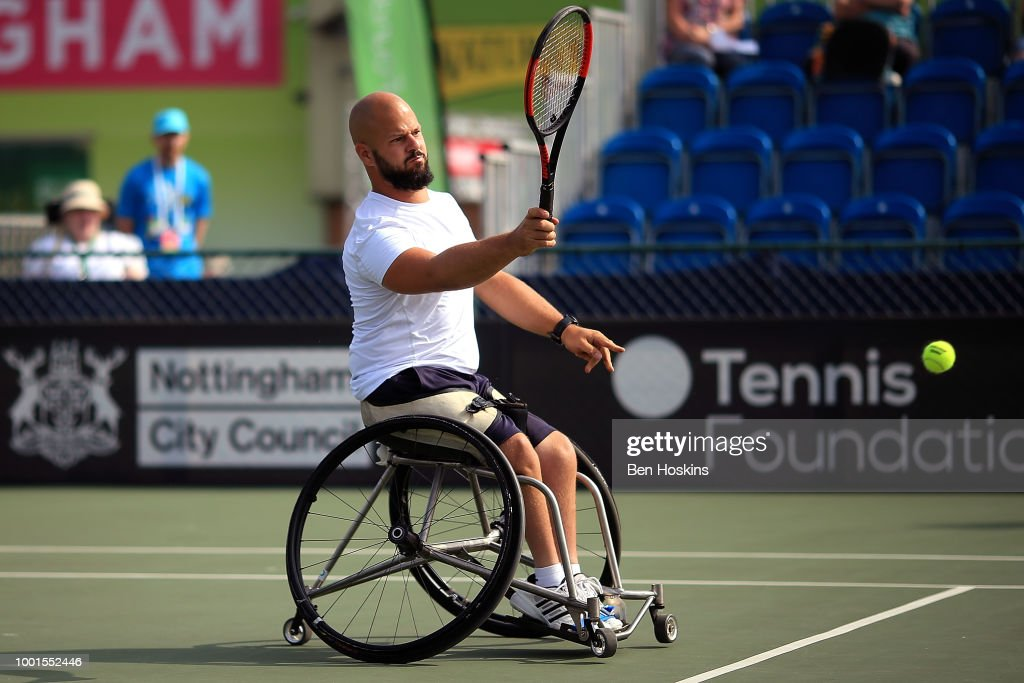 British Open Wheelchair Tennis Championships - Day Three