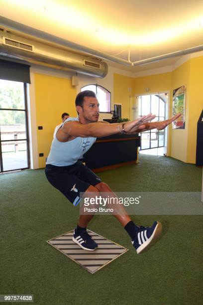 Stefan Radu of SS Lazio attends the SS Lazio medical tests on July 13 2018 in Rome Italy