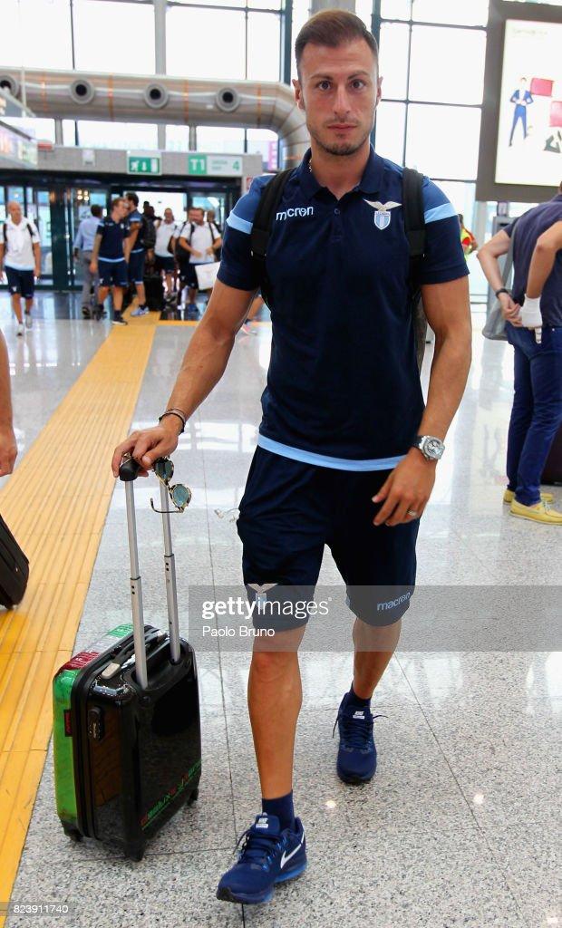 SS Lazio Departs For Austria