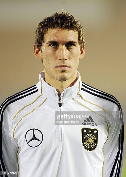 Stefan Reinartz of Germany before the UEFA Under 21 Championship match between San Marino and Germany at Olimpico stadium on November 17, 2009 in...