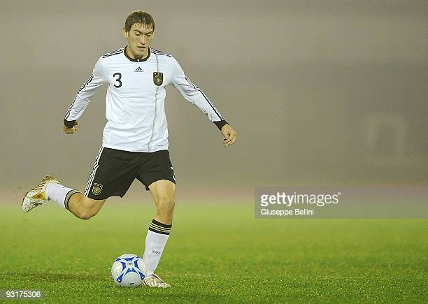 Stefan Reinartz of Germany in action during the UEFA Under 21 Championship match between San Marino and Germany at Olimpico stadium on November 17,...