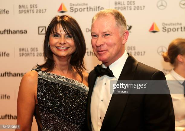 Stefan Reuter and Birgit Reuter attend the German Sports Gala 'Ball des Sports 2017' on February 4 2017 in Wiesbaden Germany