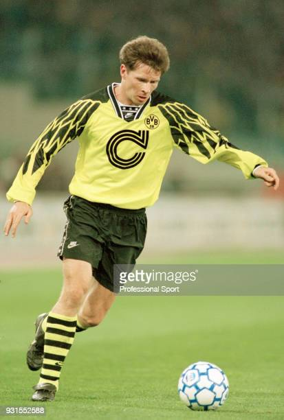 Stefan Reuter of Borussia Dortmund in action circa 1995
