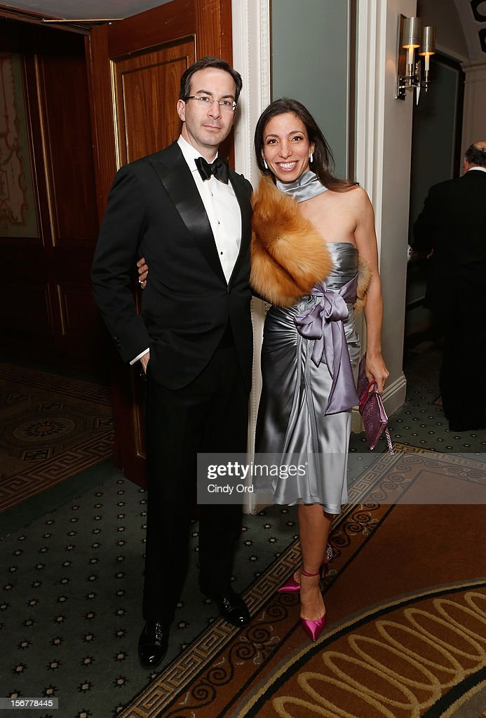 Stefan Reyniak and Pauline Reyniak attend the 2012 History Makers Gala at The Pierre Hotel on November 20, 2012 in New York City.