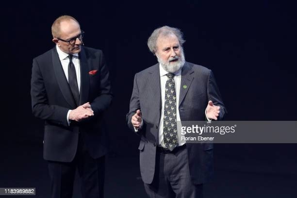 Stefan Schulze-Hausmann and Robert Watson attend the German Sustainability Award at Maritim Hotel on November 22, 2019 in Duesseldorf, Germany.