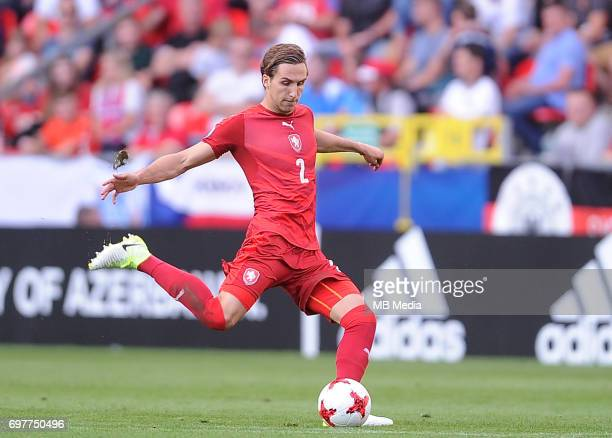 Stefan Simic during the UEFA European Under21 match between Germany and Czech Republic on June 18 2017 in Tychy Poland