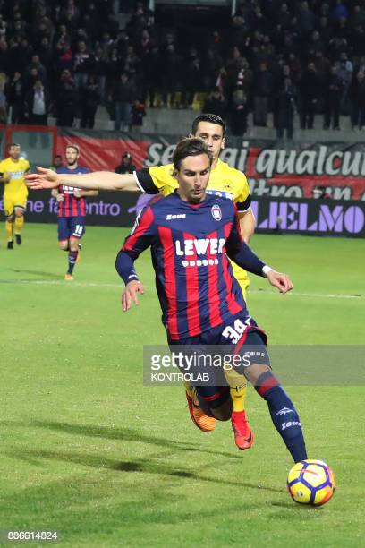 STADIUM CROTONE CALABRIA ITALY Stefan Simic of Crotone during the match of Serie A FC Crotone vs Udinese Udinese wins 30