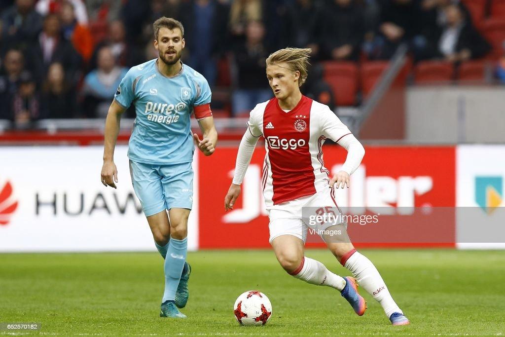 "Dutch Eredivisie""Ajax v FC Twente"" : News Photo"