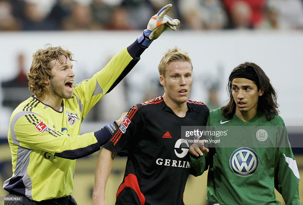 Stefan Wesels And Christian Lell Of Cologne And Juan C Menseguez Of News Photo Getty Images