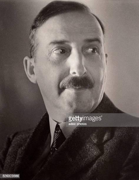 Stefan Zweig ��crivain et dramaturge autrichien n�� �� Vienne En 1935