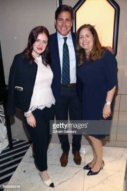 Stefani O'Sullivan Jaime Jimenez and Laurie Adorno attend Quest Nirav Modi Champagne Reception on November 2 2017 in New York City