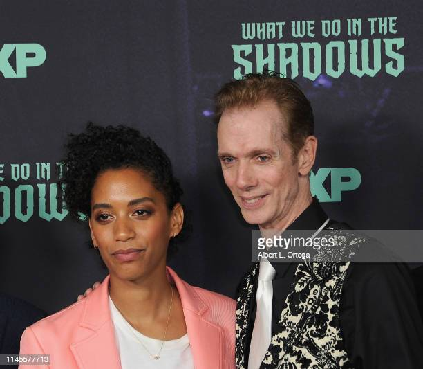 Stefani Robinson and Doug Jones attend the FYC Event Of FX's What We Do In The Shadows held at Avalon Hollywood on May 22 2019 in Los Angeles...