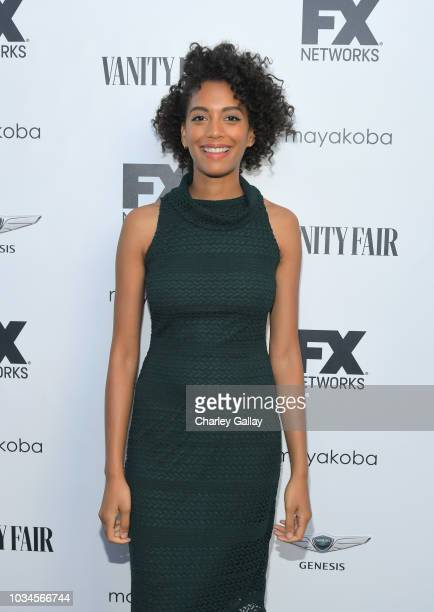 Stefani Robinson attends FX Networks celebration of their Emmy nominees in partnership with Vanity Fair at Craft on September 16 2018 in Century City...