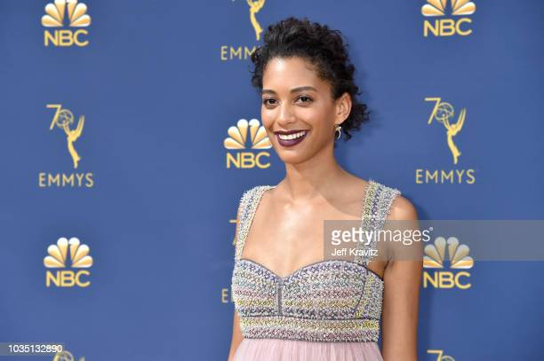 Stefani Robinson attends the 70th Emmy Awards at Microsoft Theater on September 17 2018 in Los Angeles California