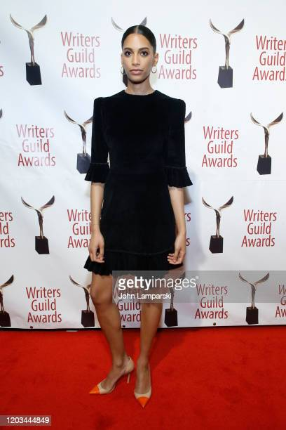 Stefani Robinson attends the 72nd Annual Writers Guild Awards at Edison Ballroom on February 01 2020 in New York City