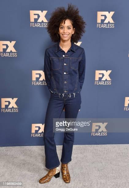 Stefani Robinson attends the FX Networks' Star Walk Winter Press Tour 2020 at The Langham Huntington Pasadena on January 09 2020 in Pasadena...