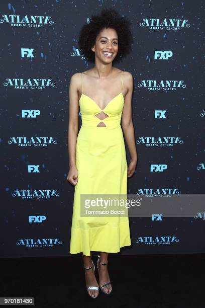 Stefani Robinson attends the FX's Atlanta Robbin' Season FYC Event at Saban Media Center on June 8 2018 in North Hollywood California