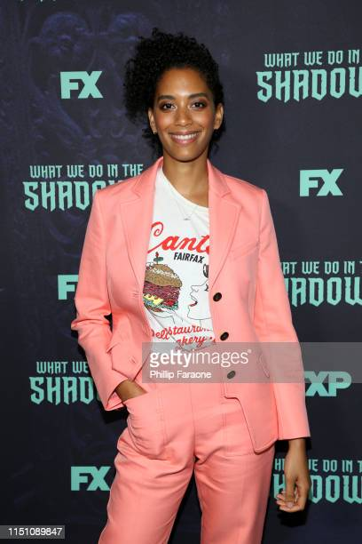 Stefani Robinson attends the FYC event of FX's What We Do In The Shadows at Avalon Hollywood on May 22 2019 in Los Angeles California
